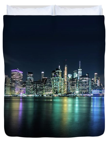 All Night Long Duvet Cover