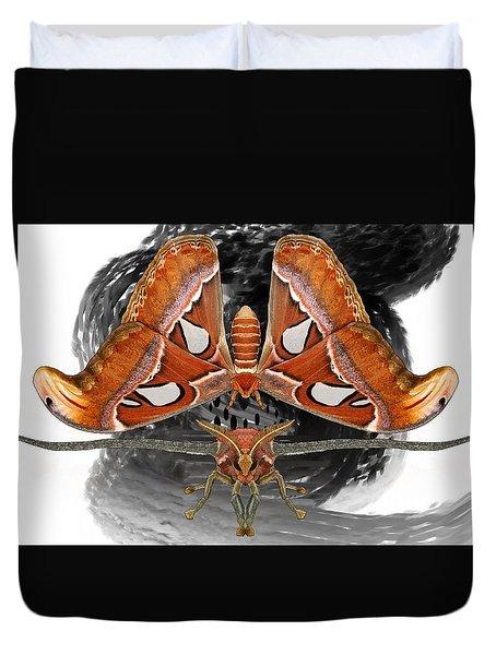 Atlas Moth7 Duvet Cover