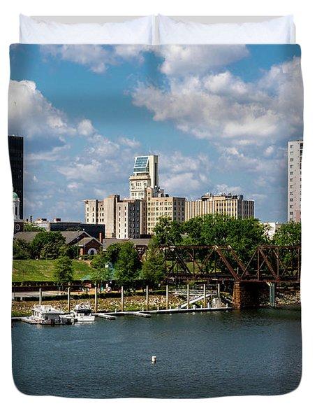 Augusta Ga - Savannah River Duvet Cover