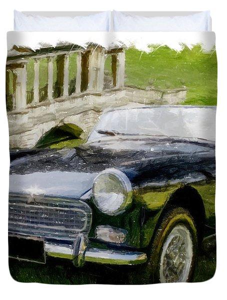 Austin Healey Sprite Duvet Cover