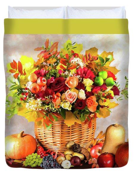Autum Harvest Duvet Cover