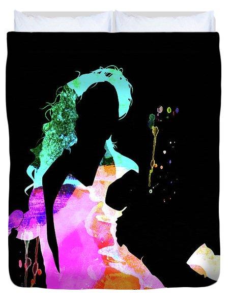 Beyonce Watercolor Duvet Cover