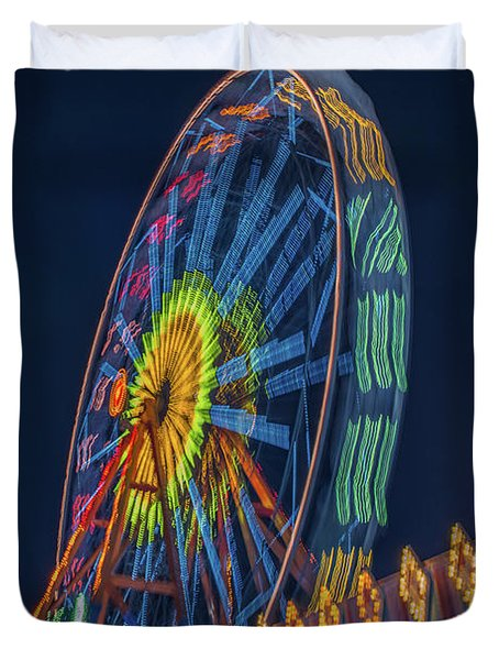 Big Wheel-2 Duvet Cover