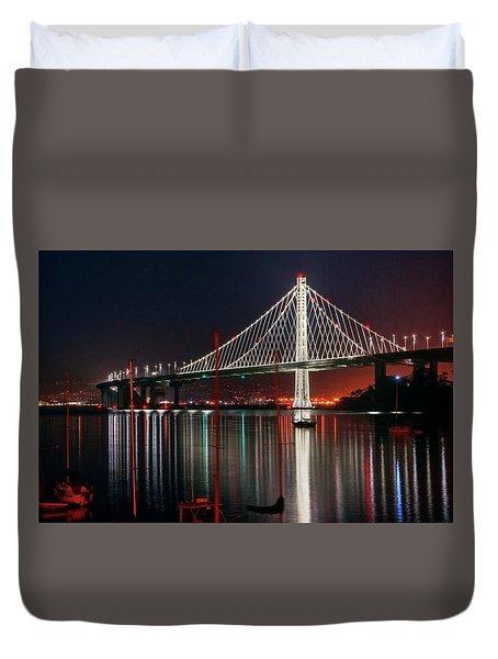 Duvet Cover featuring the photograph Billion Dollar View by Quality HDR Photography