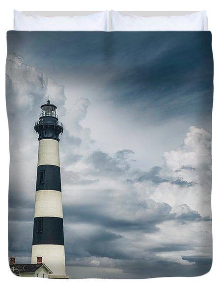 Bodie Island Light Duvet Cover