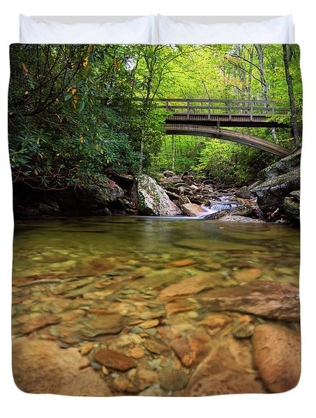 Boone Fork Bridge - Blue Ridge Parkway - North Carolina Duvet Cover