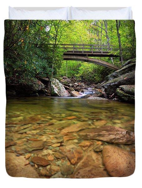Boone Fork Bridge - Blue Ridge Parkway - North Carolina Duvet Cover