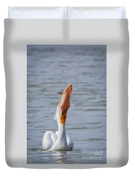 Bottoms Up Duvet Cover