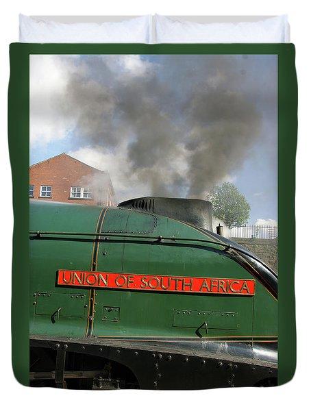Bury. East Lancashire Railway. 60009 Union Of South Af Duvet Cover