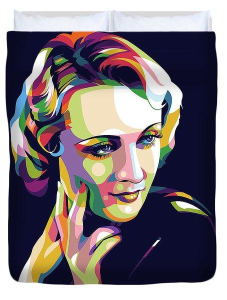 Carole Lombard Duvet Cover