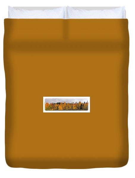 Cedar Mountain Top Duvet Cover