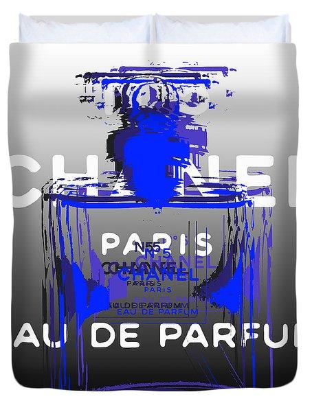 Chanel No 5 - Pop Art Duvet Cover