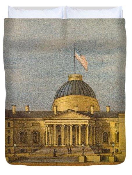 City Hall - Washington Duvet Cover
