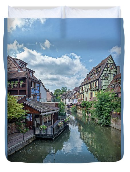 Colmar In France Duvet Cover