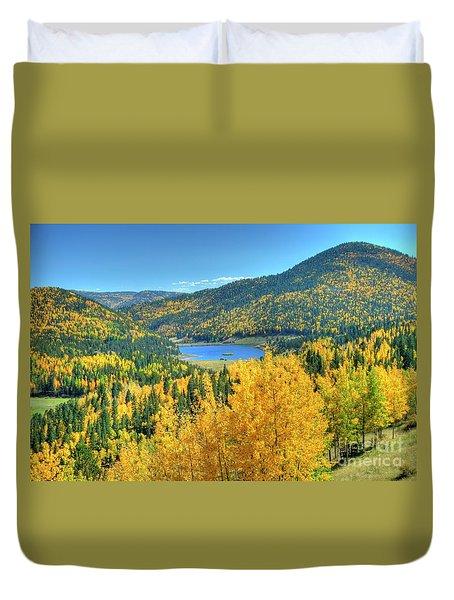 Colorado Gold Duvet Cover