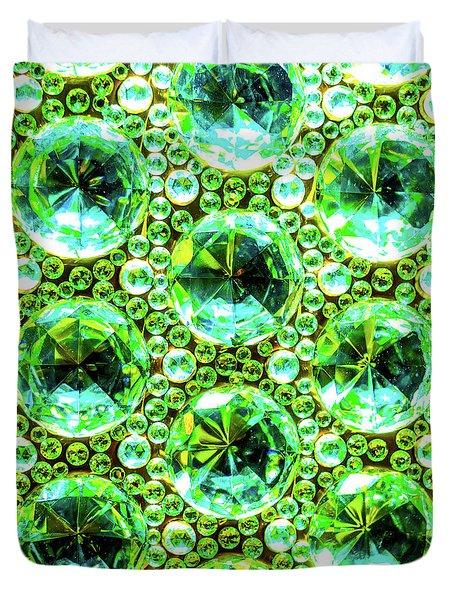 Cut Glass Beads 2 Duvet Cover