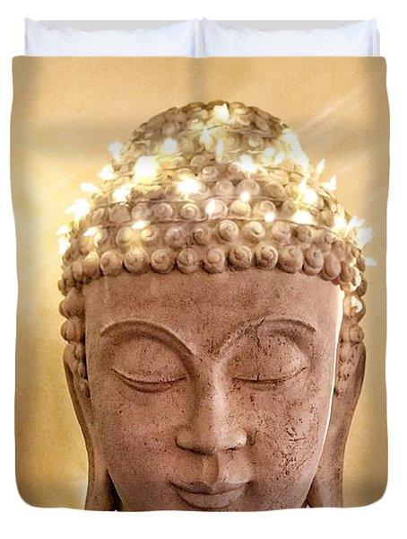 Dawn Buddha Duvet Cover