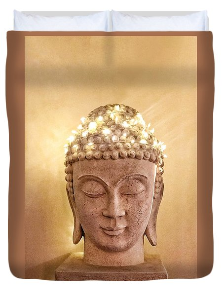 Dawn Buddha Duvet Cover