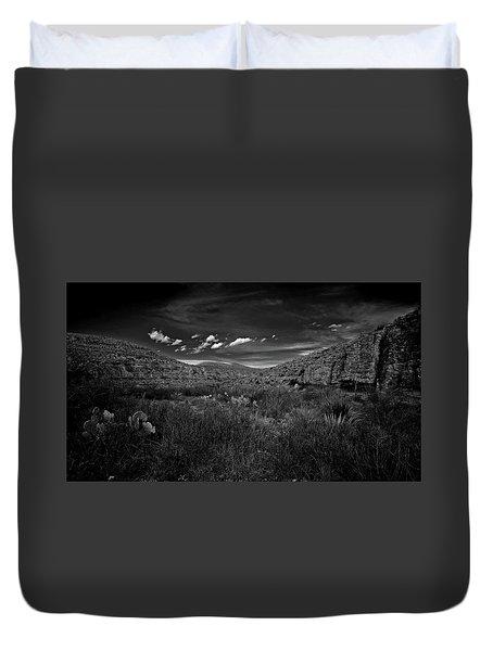 Desert And Sky Duvet Cover