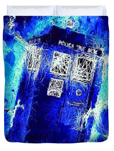 Doctor Who Tardis Duvet Cover