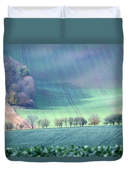 Autumn In South Moravia 1 Duvet Cover
