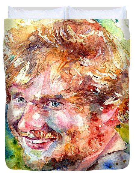 Ed Sheeran Duvet Cover