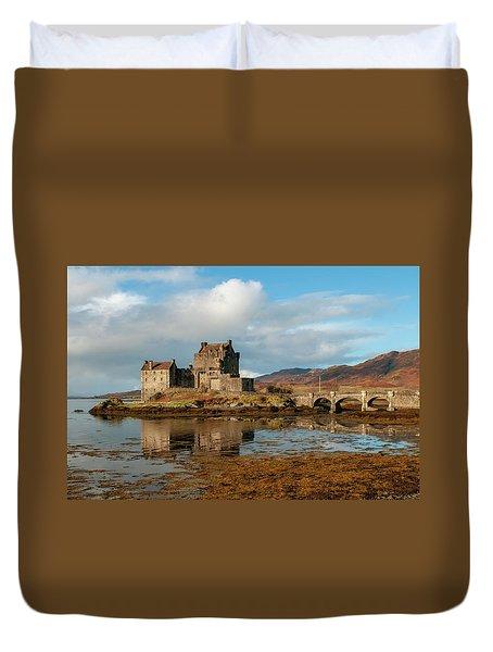 Eilean Donan Castle Duvet Cover