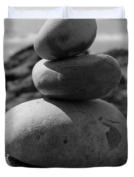 Fine Art - Pebbles Duvet Cover