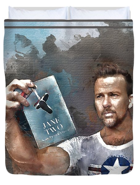 Flanery With Jane Two Duvet Cover