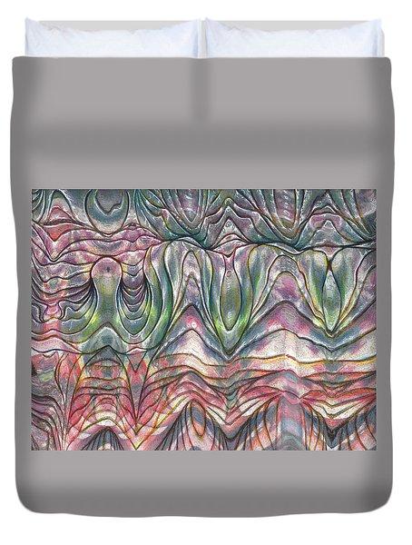 Folds Duvet Cover