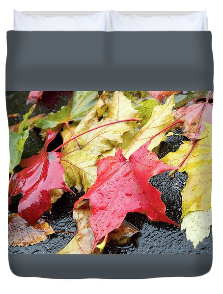 Foliage  Duvet Cover
