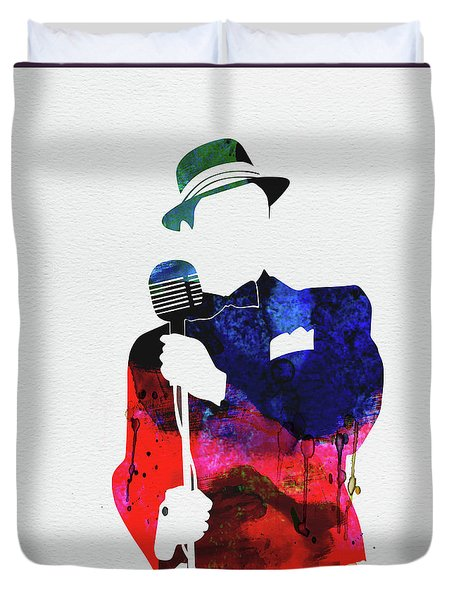 Frank Watercolor Duvet Cover