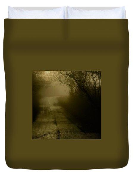 Golden Fog Duvet Cover