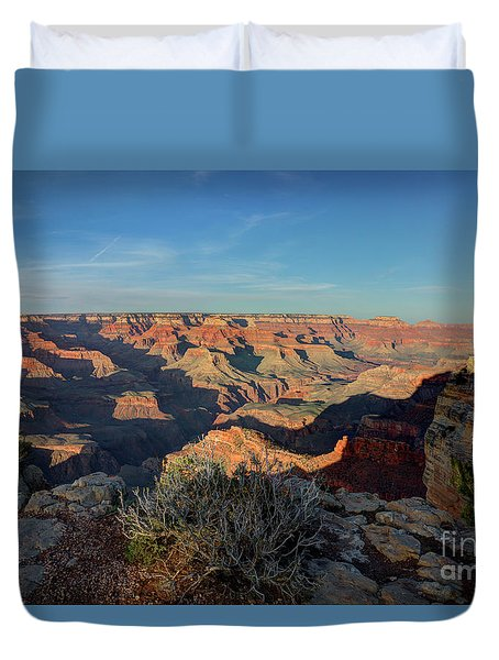 Grand Canyon National Park Spring Sunset Duvet Cover