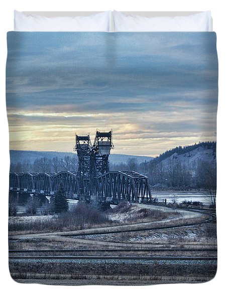 Grand Trunk Pacific Railway Duvet Cover