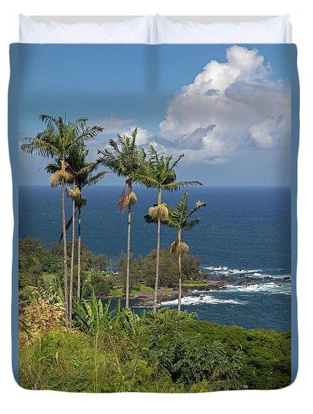 Hawaii Big Island Duvet Cover