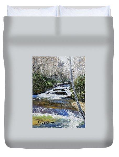 Horsepasture River Duvet Cover
