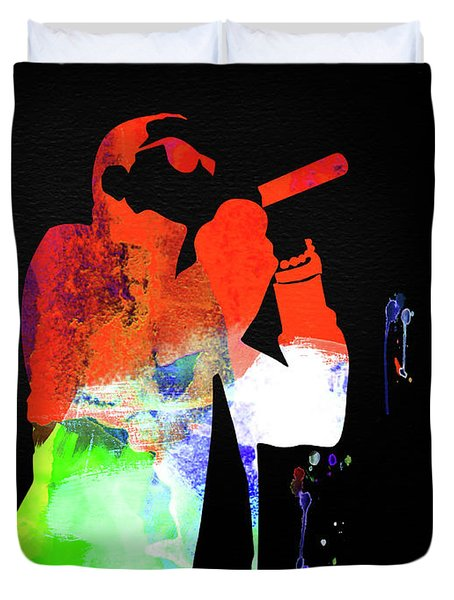 Jay-z Watercolor Duvet Cover
