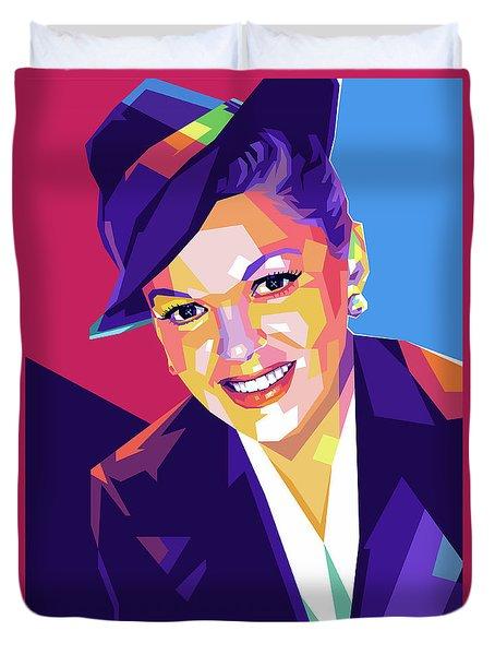 Judy Garland Duvet Cover