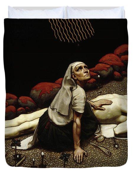 Lemminkainen's Mother Duvet Cover