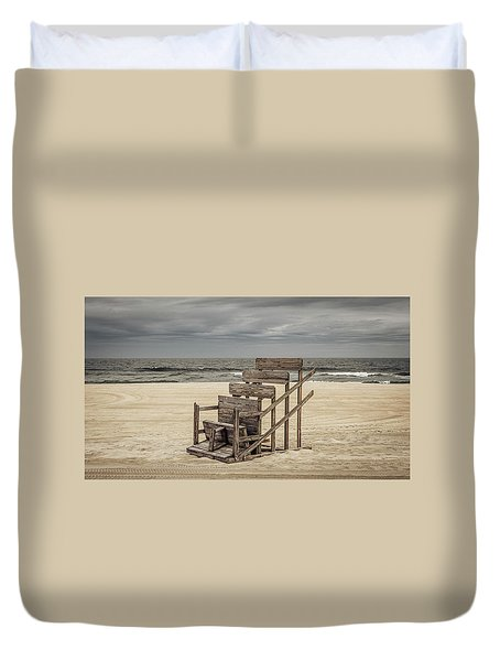 Lifeguard Stand Duvet Cover