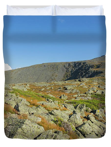 Duvet Cover featuring the photograph Mount Washington - New Hampshire, White Mountains by Erin Paul Donovan