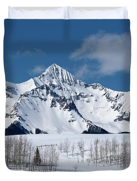 Mt Wilson Duvet Cover