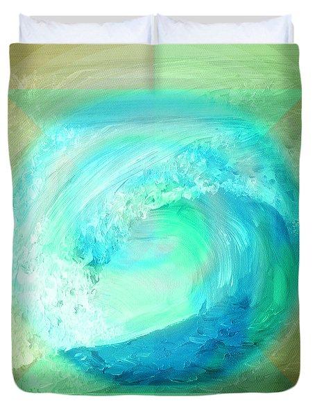 Ocean Earth Duvet Cover
