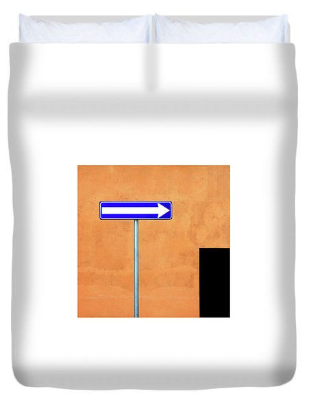 One Way Duvet Cover