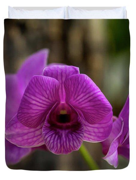 Orchid Duvet Cover