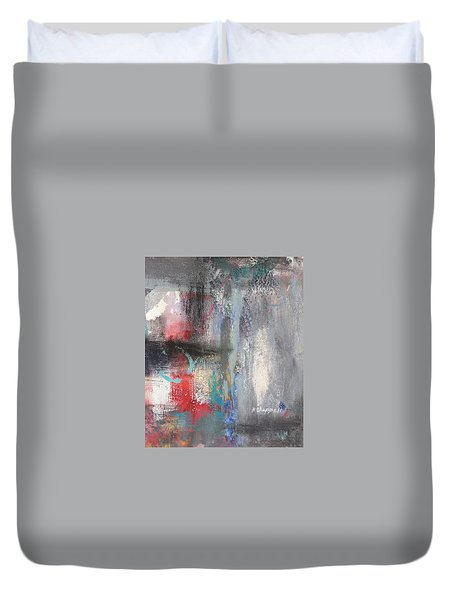 Out Of Sorts Duvet Cover