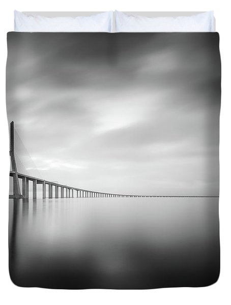 Ponte De Vasco Da Gama, Lisbon Duvet Cover