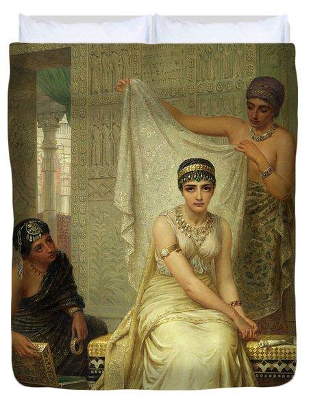 Queen Esther Duvet Cover