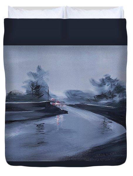 Rainy Day New Duvet Cover